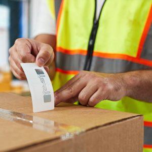 Etiquetas RFID para identificar produtos