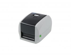 Esta é a Impressora CAB Mach. É uma das impressoras de etiquetas térmicas e não térmicas, que servem como impressoras de códigos de barras e outras informações em etiquetas.