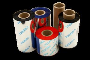 Ribbon é uma fita de impressão, por transferência térmica para impressoras de etiquetas