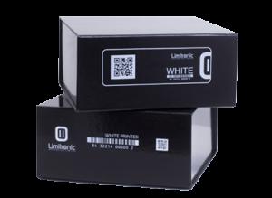 Impressora Inkjet ou Jato de Tinta para marcação, identificação e codificação industrial. Impressão jato de tinta a cores e impressão a branco