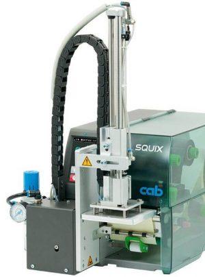 Aplicador Squix Vertical, para aplicação de etiquetas industrial