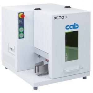 Impressora Laser Xeno 3, para marcação laser em placas de metal ou plástico