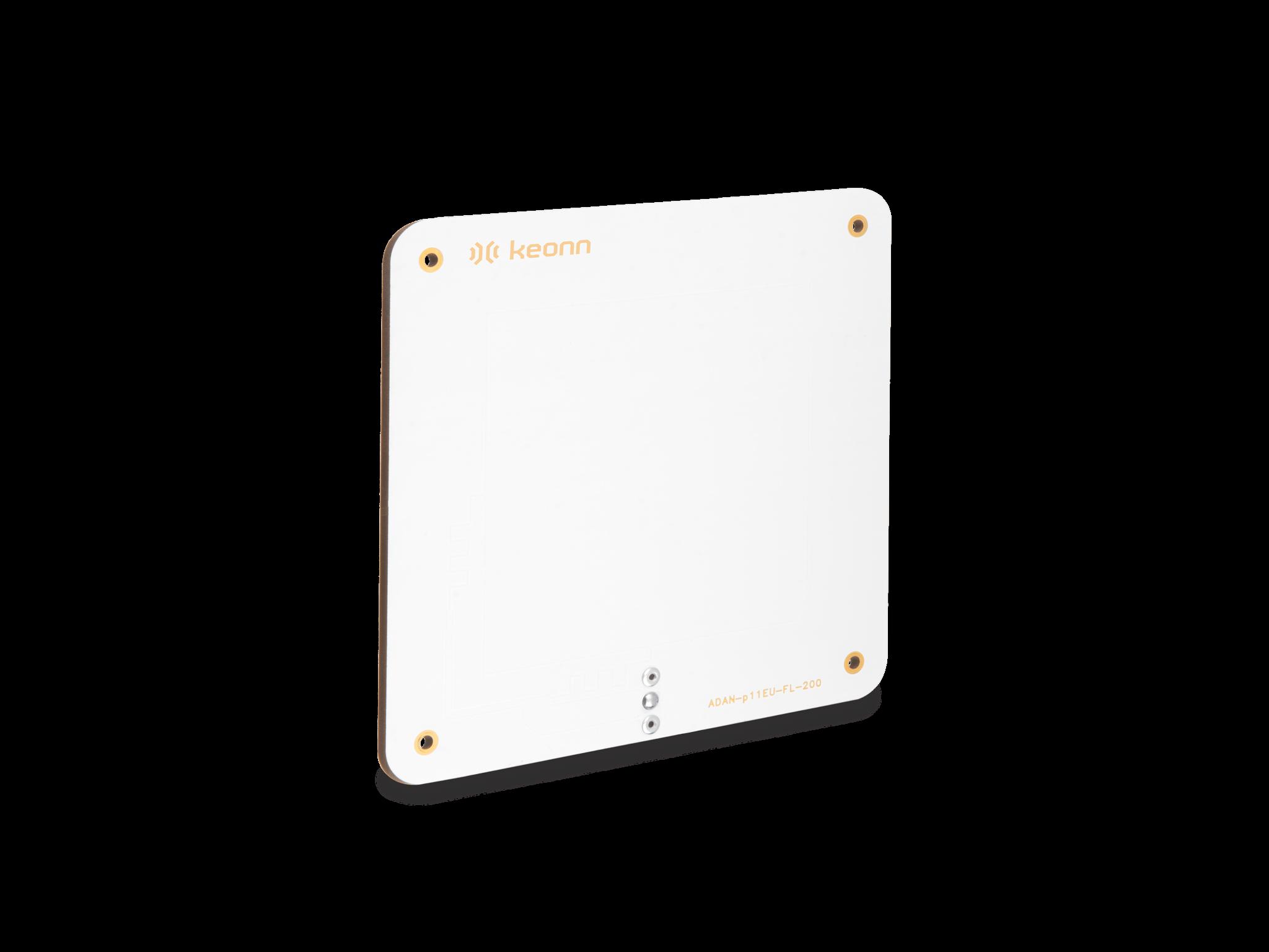Antena RFID UHF compacta para aplicações indoor