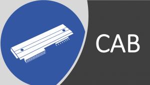 Comercializamos cabeças de impressão CAB, para todos os modelos da marca.