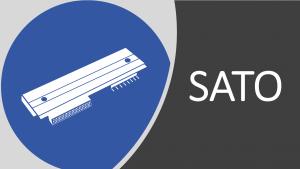 Comercializamos cabeças de impressão Sato, para todos os modelos da marca.