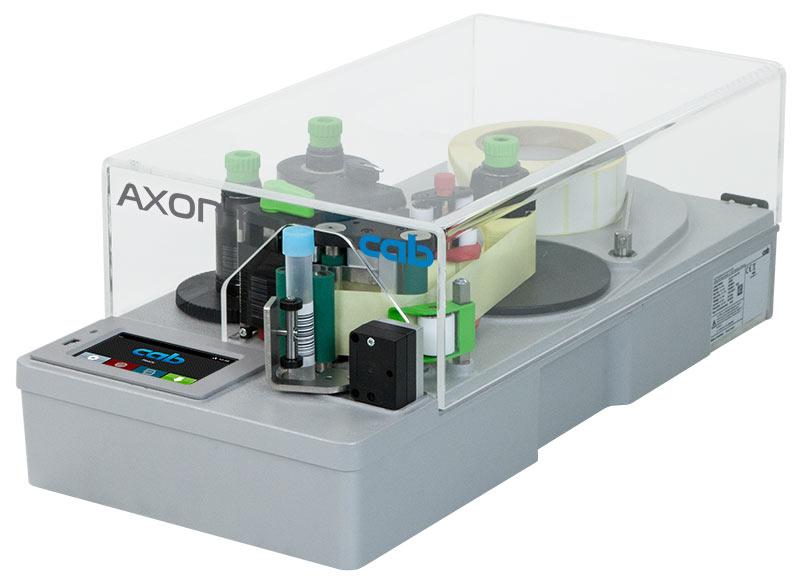 Impressora de etiquetas para identificar amostras de sangue